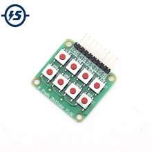 10 pcs/lot 2x4 4x2 clavier 8 touches tableau matrice clavier bouton pour Arduino AVR PIC(China)