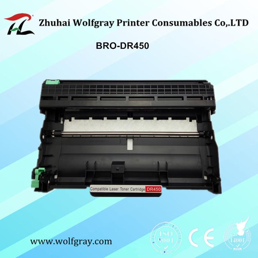 Compatibel systeem voor Brother-drumeenheid DR420 / DR450 / DR2250 / DR2200 / DR2220 / DR2255 HL-2220/2230 / 2240D / 2242D / 2250DN / 2270DW