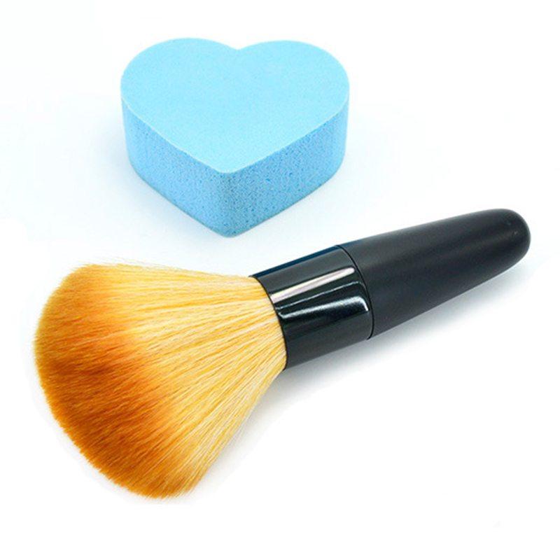 ELECOOL 1pc Beauty Powder Brush Single Soft Face Cosmetic Makeup Brush Big Loose Shape Maquiagem Makeup Tool Hot Selling 1pc beauty women powder brush single soft face cosmetic makeup brush big loose shape maquiagem