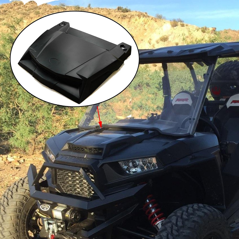 KEMiMOTO Turbo Hood Scoop Air Intake for Polaris RZR RZR S EPS XC XP RZR 4