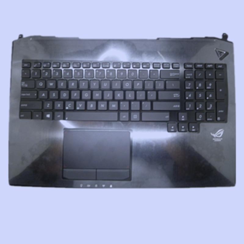 New US standard Laptop palmrest Keyboard for ASUS G750 G750JH G750JM G750JS G750JW G750JX G750JZ with backlight