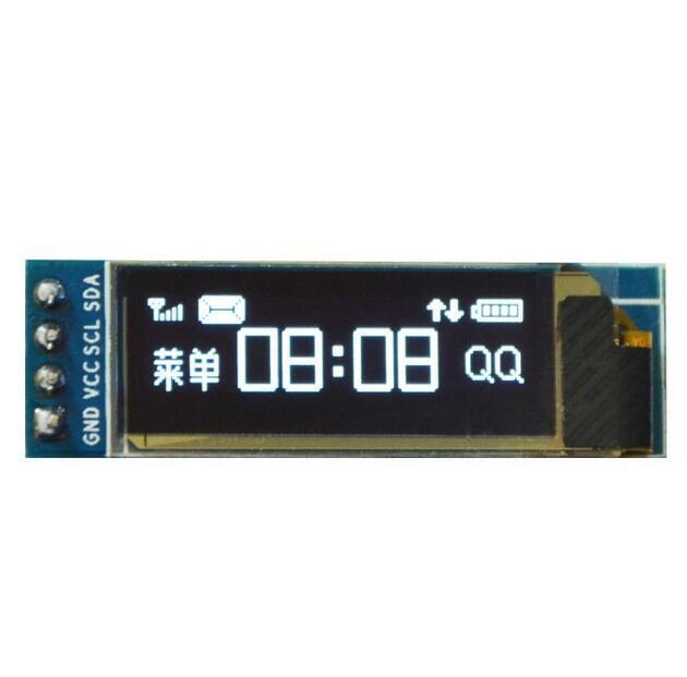 0.91 Inch 128x32 IIC I2C Blue OLED LCD Display DIY Oled Module SSD1306 Driver IC DC 3.3V 5V For Arduino PIC