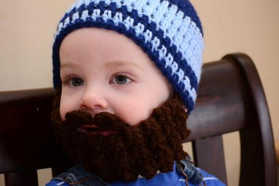 2015 Funny baby sombrero de ganchillo para bebés ropa recién nacido ...
