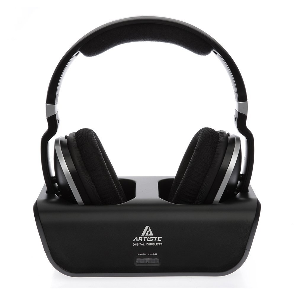 ARTISTE ADH300 2 4G Wireless Noise Isolating Super Bass HIFI Music TV PC Computer Home Video
