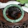 Atacado de Alta Qualidade Bangles grau A Pure Natural Jade Pulseira de Jade Natural