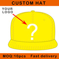 custom-made hat 3D embroidery flat brim promotion price hip hop cap sizable customer design E111-16