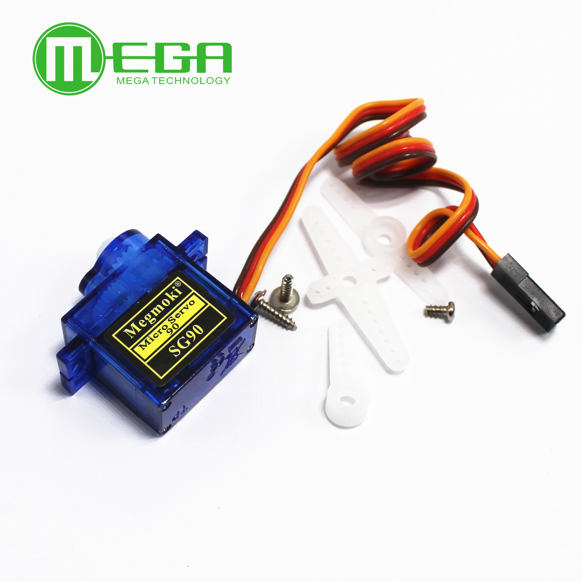 1Pcs Rc Mini Micro 9g 1.6KG Servo SG90 for RC 250 450 Helicopter Airplane Car image
