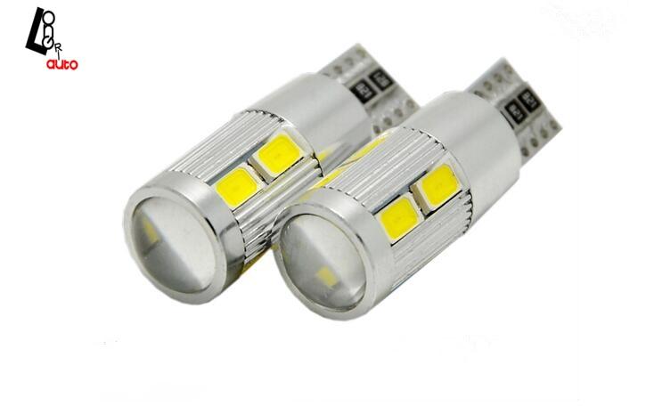 Suku Cadang Mobil Biasa Digunakan 2 X 194 W5W 5630 LED 10 SMD light - Lampu mobil - Foto 2