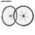 700C Brake surface alloy carbon wheels 38mm Depth climbing carbon 23mm width 3 K matte finish for long descent