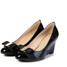 ผู้หญิงปั๊มชิ้นรองเท้าส้นสูงหนังแท้แบรนด์ผู้หญิงแต่งงานวาเลนไทน์รองเท้าขนาด3-10 s apatos femininos s alto. DA012