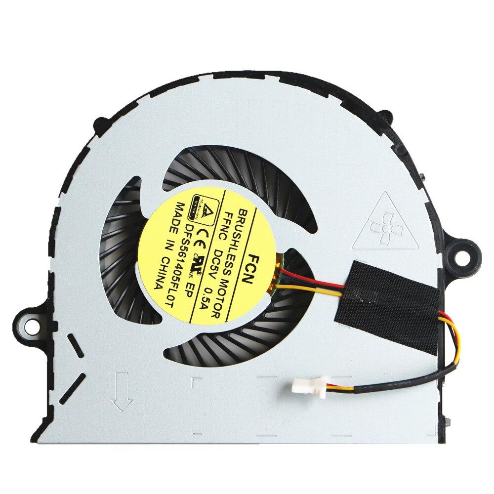 Novo Fã Original Para Acer Aspire E5-552 E5-571G E5-571 E5-471G E5-471 E5-473 E5-473G V3-572G E5-573 E5-573G P246 Ventilador de Refrigeração da Cpu