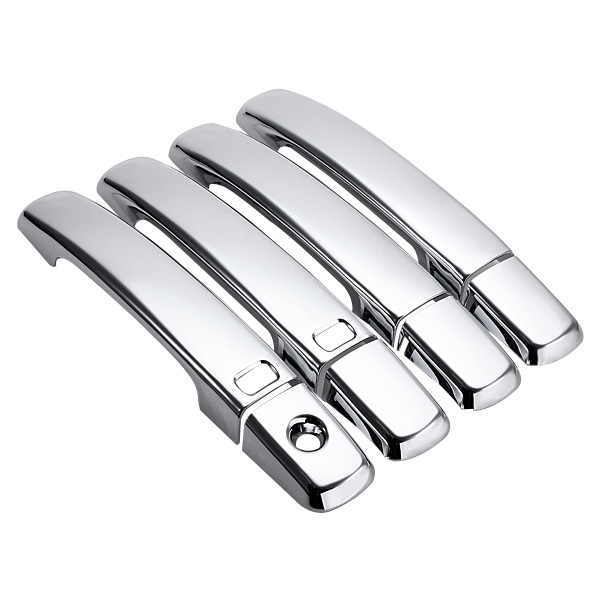 8pcs Left & Right Chrome Door Handle Cover With1 Key Hole For ...