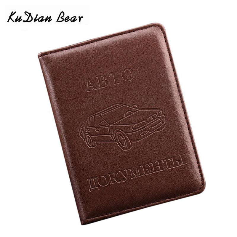 Russian Driver s License PU Leather Cover for Car Driving Documents Business font b Card b