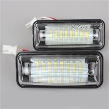 2 PCS GT 86 LED License Plate Light Lamp Rear Registration Car Number License Plate Lamp for Toyota 86 GT86 FT86 BRZ Scion FR-S стоимость