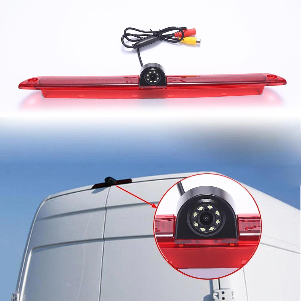 Automašīnas bremžu gaisma aizmugurējā skata kameras novietošana - Auto Elektronika
