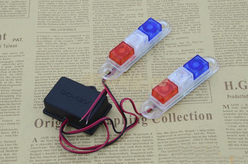 MOTOWOLF Lampa błyskowa LED motocyklowa Lampa ostrzegawcza Strobe - Akcesoria motocyklowe i części - Zdjęcie 4