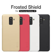 SFor Samsung Galaxy J8 2018 SM-J810F Nillkin Frosted Shield PC ปกหลัง Samsung J8 กรณี(China)