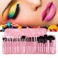 Nuevo de Las Mujeres Profesionales 32 unids Maquillaje Cepillo Conjunto Kit del artículo de Tocador Marca de Maquillaje Cepillo Conjunto de herramientas Comestic Belleza