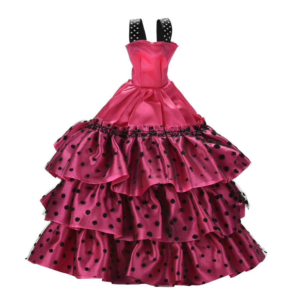 Wedding Dress Leisure Skirt Party Gown For Doll Girl Best Gift Doll Coat Pants Shoes One Set Original Doll Clothes