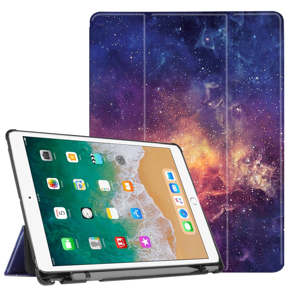Pro 10.5 Case With Built-In Pencil Holder Stand Protective Cover With Auto Sleep / Wake Feature For Apple Ipad Pro 10.5