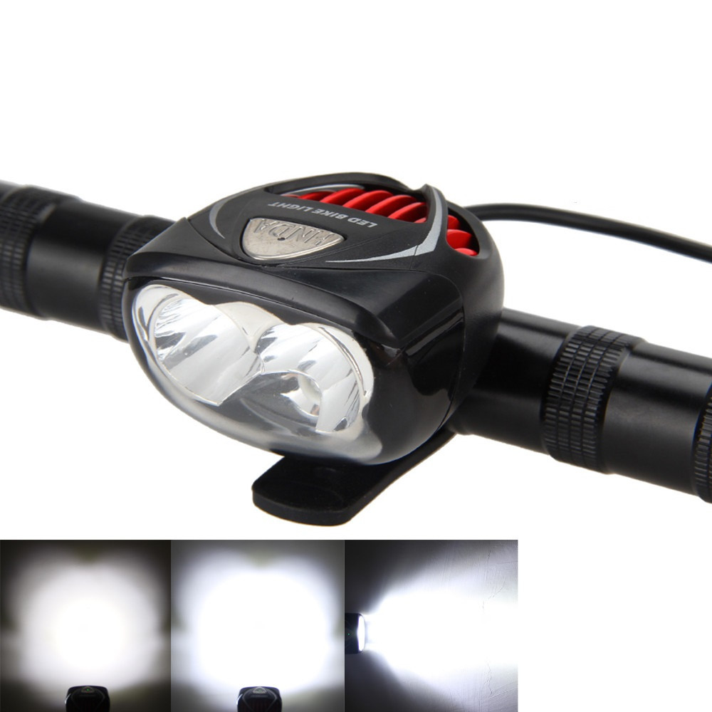 6 Cree LEDs Bike Light 3000LM LED Bicycle Bike Head Light Lamp cycling With 8.4V 6000mah 18650 battery pack +Charger+Head strap|Bicycle Light| |  - title=
