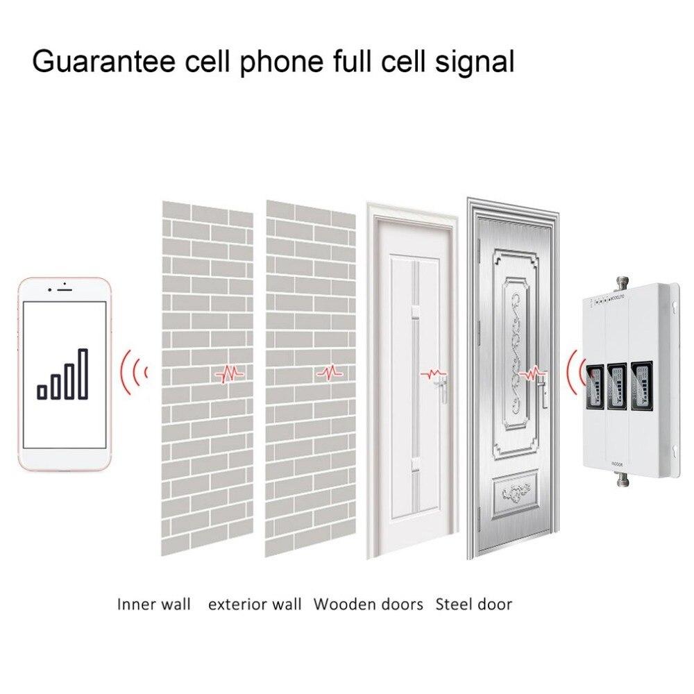 Amplificateur de Signal de répéteur extérieur externe GSM 900 MHZ 1800 MHZ 2100 MHZ amplificateur de Signal de téléphone Portable de taille Portable - 3