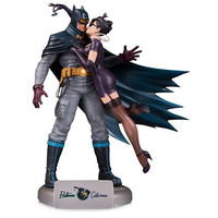 Avengers:Infinity War Batman & Catwoman Kissing Scenes Deluxe Edition Statue Action Figure Collection Model Toy X70