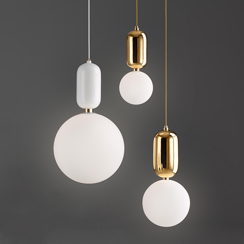 Nordic Pendant Light Simple Modern Restaurant Bar Led