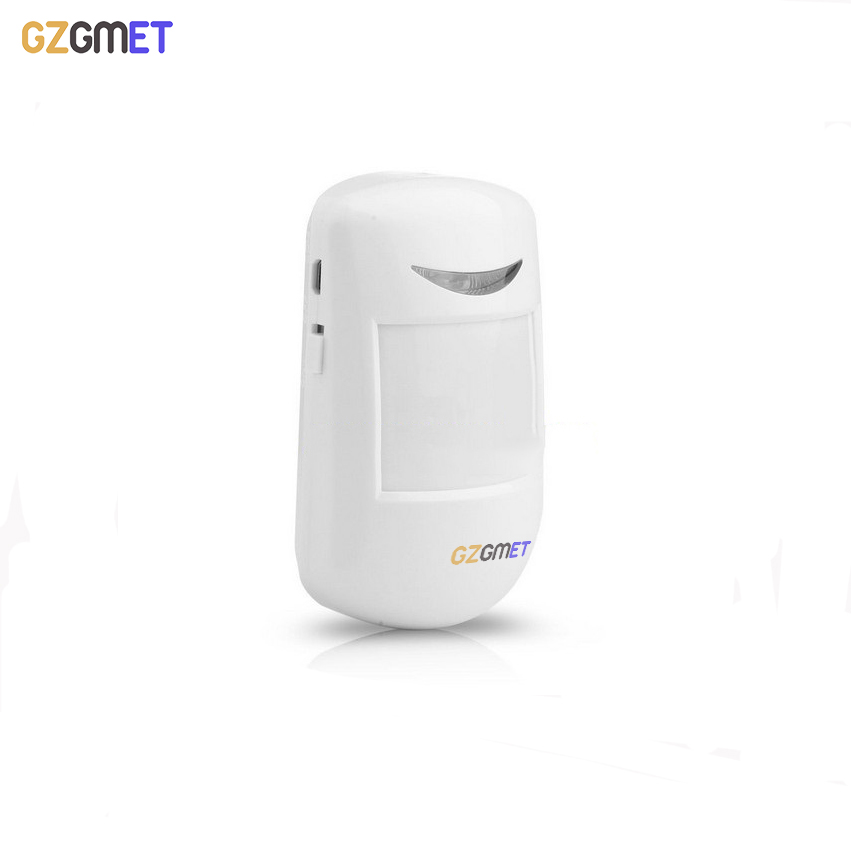 GZGMET Brand NEW 433mhz Sensitive Wireless Motion Detector ABS Fashion White Gsm Wifi Alarm System Home Security Sensor gzgmet sensor alarm window door glass break detector durabe white wired home security system sensor