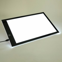 Wholesale A4 Painting Drawing Board LED Drawing Board Art Stencil Copyboard With USB Cable Copy Table for Painting