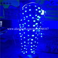 High quality new design cotton big head doll led costumes flashing glowing costumes for performance dancing