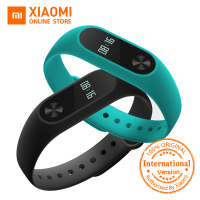 Global Version Xiaomi Mi Band 2 Miband 2 Smartband OLED Display Touchpad Heart Rate Monitor Bluetooth