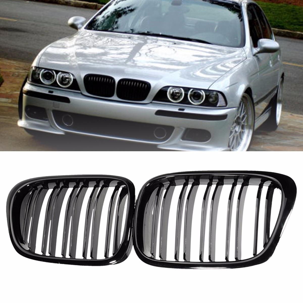 BMW 5 E39 1996-2003 CAR DOOR SILL PROTECTOR EXCLUSIVE chrome 4pcs