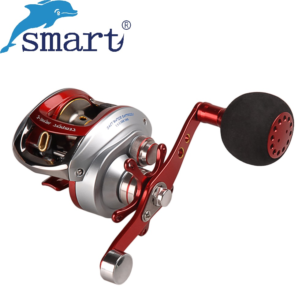 Saltwater Baitcasting Fishing Reel 4+1BB/7.1:1 Light Anti-Corrosive 215g Molinete Peche Carretilha Carretes Pesca Round Wheel smart baitcasting reel 6bb 6 2 1 right left hand reel molinete peche carretilha carretes pesca lure wheel fishing line winder