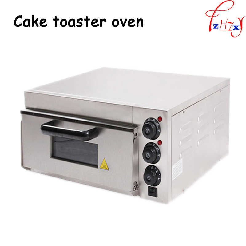 electrical stainless steel home/commercial thermometer single pizza oven/mini baking oven/bread/cake toaster oven EP-1ST 1 pc dmwd mini toaster electric oven multifunction timer making biscuits bread cake pizza cookies baking machine 12l liter 900w eu us