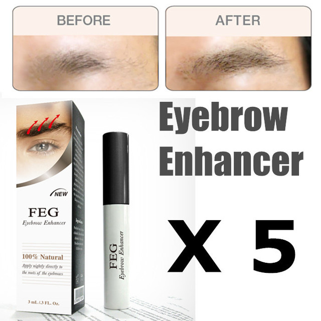 Aliexpress Buy Feg Eyebrow Enhancer Natural Serum For Eyebrow