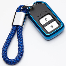 KUKAKEY TPU 2 Button Remote Car Key Case For Honda Elision Civic Jade Spirior Accord Odyssey Styling Accessories