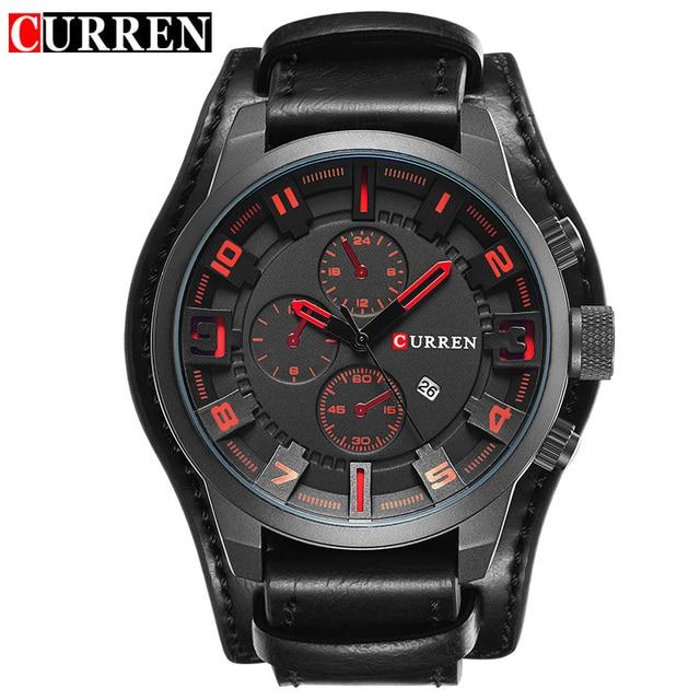 Curren Часы 2017 мужские часы лучший бренд класса люкс relogio masculino curren Кварцевые Наручные Часы 8225