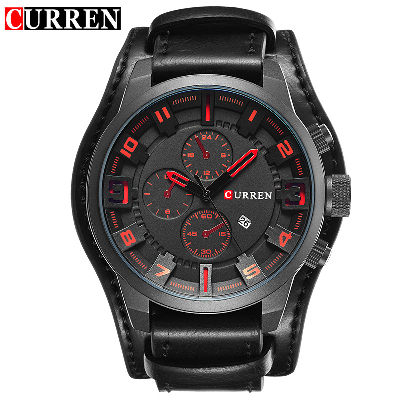 Curren Watches 2017 watches men top brand luxury relogio ...