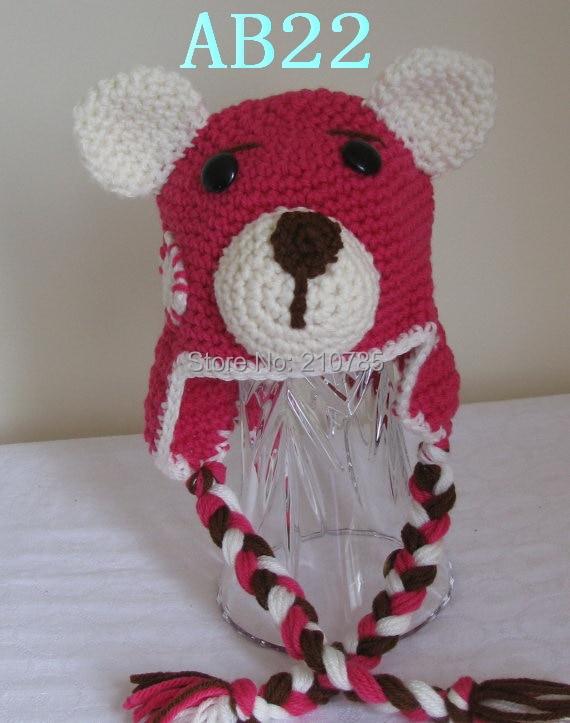 бесплатная доставка детские ручной вязки розовый шляпа обувь для
