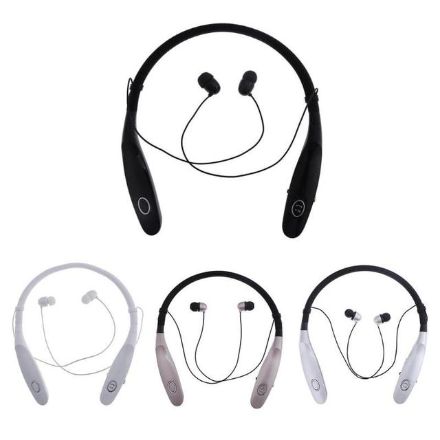 187c9932978 900S Wireless Bluetooth Headset Neck Band Headphone Sport Earphone with Mic  Sports Bluetooth Headset For iPhone Android Hot Sale