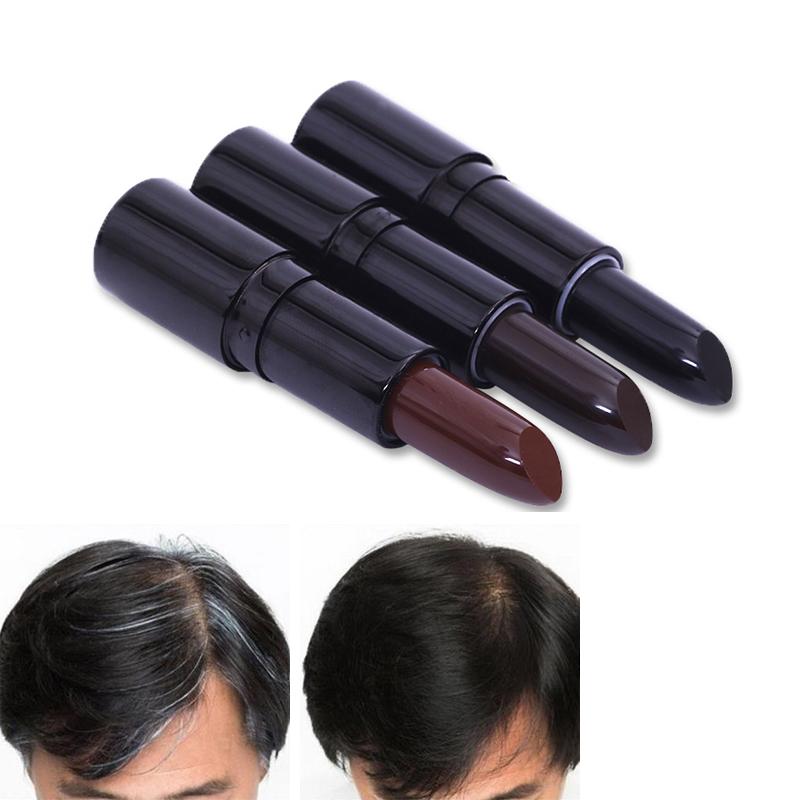1 pcs nouvelle mode cheveux colorant rouge lvres forme cheveux couleur crme cheveux craie cheveux - Coloration Temporaire Rouge
