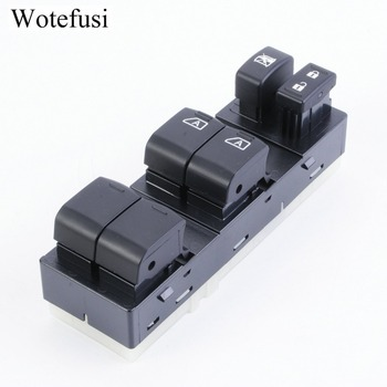 Wotefusi Electric Power Window Lifter Switch Master Schakelaar voor Nissan Altima 2007 2008 2009 2010 2011 2012 [QPA551]