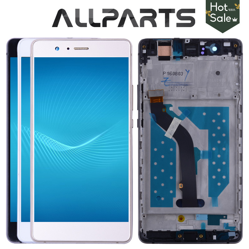 ALLPARTS 5.2'' 1920x1080 IPS LCD For HUAWEI P9 Lite Display Touch Screen for HUAWEI P9 Lite LCD Display Digitizer with Frame