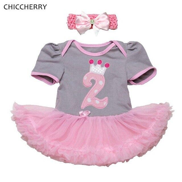 2 años bebé cumpleaños vestido bebe roupas infantis menina Niñas ...