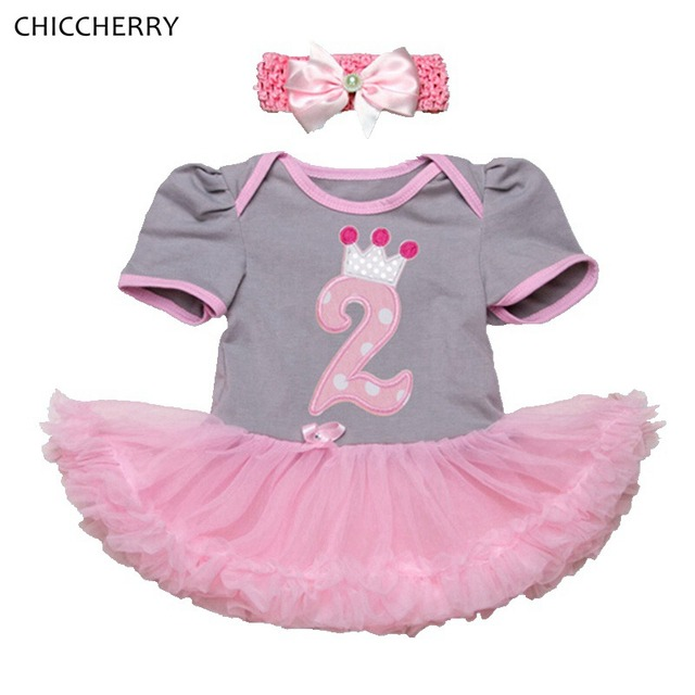 76680a11e 2 años bebé niña cumpleaños Vestido diadema