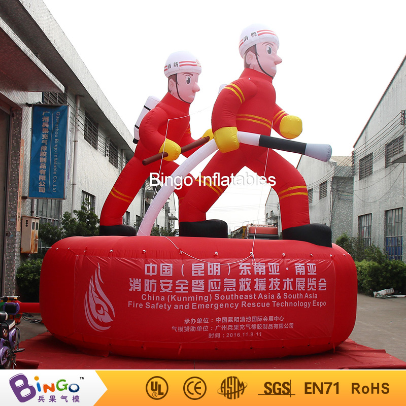 5 meters high big inflatable fire man for events  -inflatable toy5 meters high big inflatable fire man for events  -inflatable toy