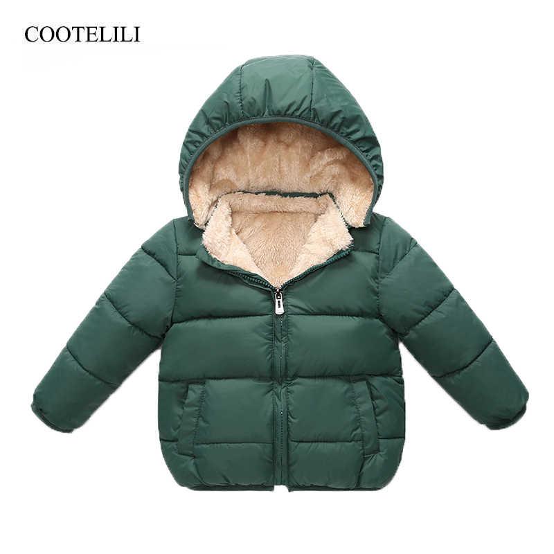 54822249fd23 Detail Feedback Questions about COOTELILI Fleece Winter Parkas Kids ...