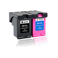 LuoCai Compatible Ink Cartridges For HP 301 2510 3510 D1010 1510 2540 4500 1050 2050 2050s 3050 2150 3150 printer For HP301 XL
