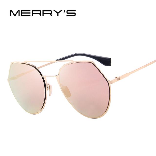 Marca mulheres designer de moda óculos de sol ultraleves merry's tons clássicos s'8074